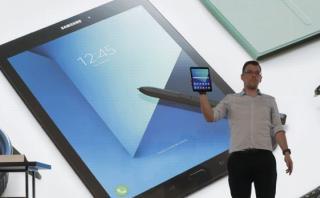 Samsung mostró potentes tablets y anunció presentación del S8