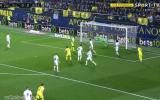 Real Madrid: Villarreal convirtió tras mal rechazo de Marcelo