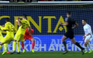 Cristiano Ronaldo anotó para Real Madrid pero... ¿fue penal?