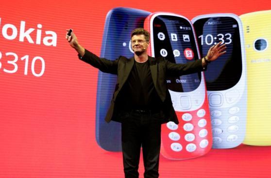 Nokia 3310: la nostalgia invadió el MWC 2017