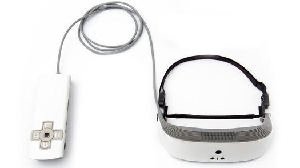 Este visor permite que los legalmente ciegos vean