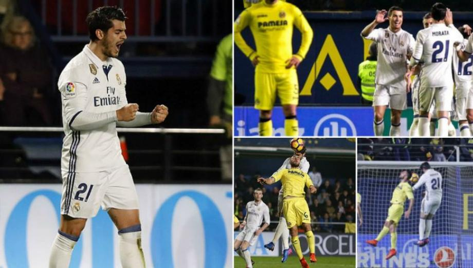 CUADROxCUADRO del gol de Morata con el que remontó Real Madrid