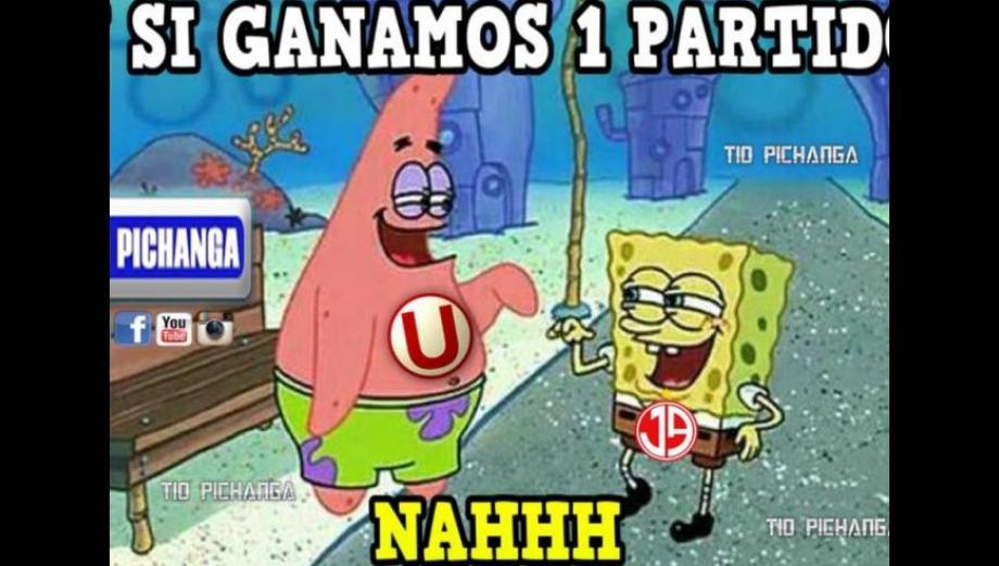 Universitario y los despiadados memes del empate ante Aurich