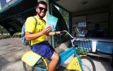 San Borja: implementan libreros en estaciones de bicicletas