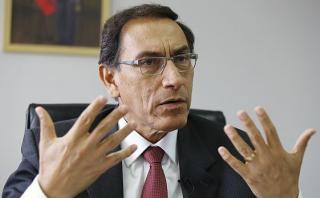 El ministro de Transportes y Comunicaciones, Martín Vizcarra, anunció que no harán desembolso al consorcio Kuntur Wasi hasta que la contraloría emita su informe de control. (Foto: El Comercio/ Video: América TV)