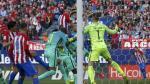 Atlético de Madrid le marcó al Barza con este cabezazo de Godín - Noticias de liga española