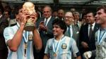 Diego Maradona: subastaron medalla de oro obtenida en México 86 - Noticias de daniel passarella