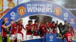 Manchester United: festejo y euforia por título en Wembley - Noticias de capital one cup