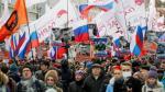 Rusia: Miles marchan por asesinato a opositor de Putin - Noticias de boris nemtsov