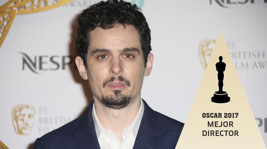 Damien Chazelle es el ganador del Oscar.