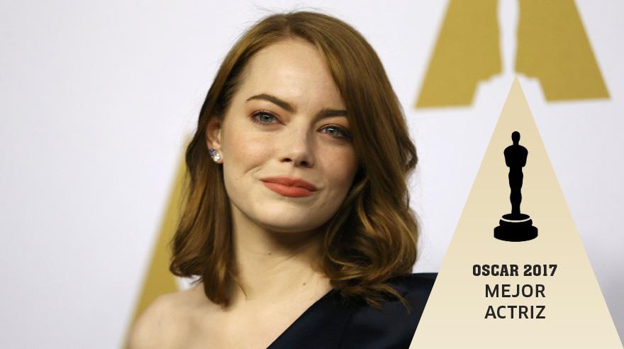 Emma Stone la mejor actriz de los Oscar.