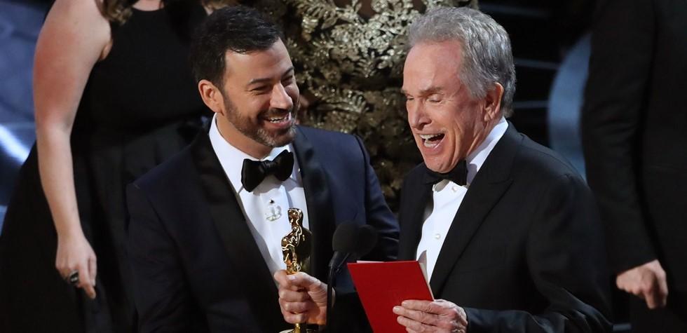 El error que empañó la ceremonia del Oscar