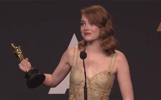 Oscar 2017: Emma Stone duda sobre el error en la gala [VIDEO]