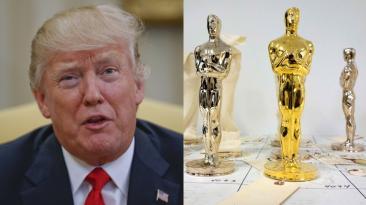Donald Trump, el personaje secundario de la noche de los Oscar