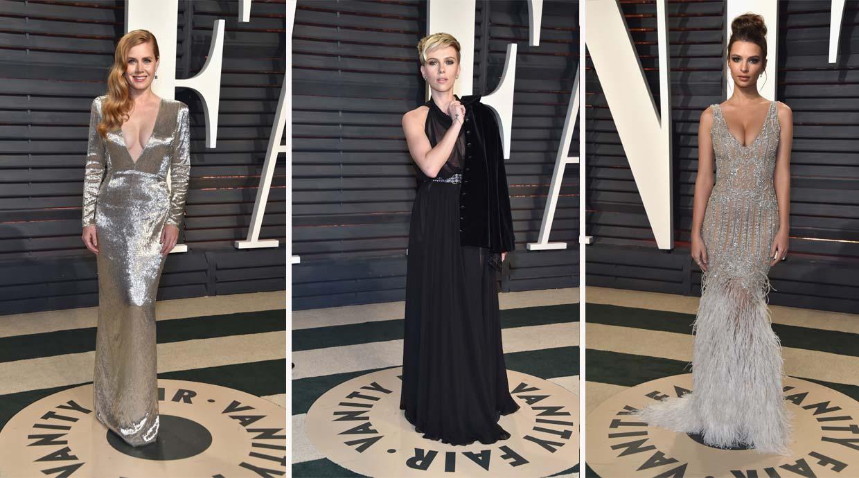 Oscar 2017: Las mejor y peor vestidas de la gala de Vanity Fair
