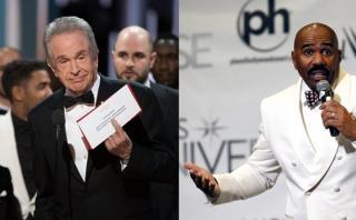 Steve Harvey se pronuncia en Twitter tras error en los Oscar