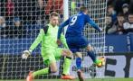Vardy anotó su primer gol en Premier con Leicester este año