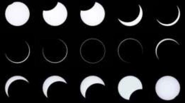 ¿Cuáles son los distintos tipos de eclipses que existen?