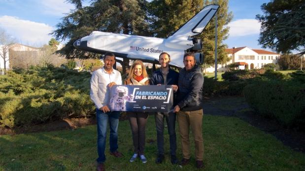 Estudiantes peruanos podrán imprimir en 3D en el espacio