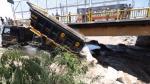 Continúa enrocado debajo de puente Dueñas tras colapso de vía - Noticias de nicolas duenas