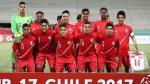 Perú vs. Argentina: partido en Talca por Sudamericano Sub-17 - Noticias de jose salvador alverenga