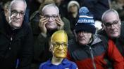 Leicester: despidieron a Claudio Ranieri con máscaras y afiches