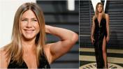 Jennifer Aniston dio que hablar en el Oscar por su apariencia