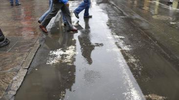 Lluvias en Chosica 7 veces más fuertes que en el resto de Lima