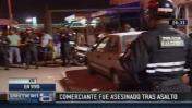 Sicarios asesinan a empresario a metros de terminal Yerbateros