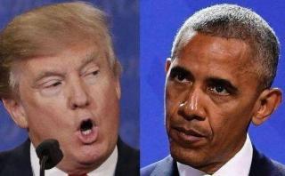 Trump dice que Obama está detrás de las protestas en su contra