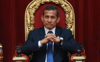 Sala resolverá apelación de Humala sobre permiso para viajar