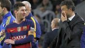 Barcelona: Luis Enrique admitió dependencia de Lionel Messi