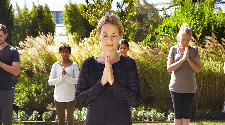 Las sesiones de yoga y meditación en el hotel cuentan con instrucción especializada y personalizada según la persona. (Foto: Facebook/ TheRanch)