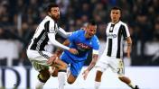 Juventus venció 3-1 a Napoli por la ida de semis de Copa Italia