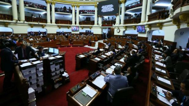 Congreso aprobó imprescriptibilidad de delitos de anticorrupción