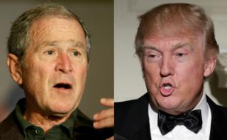 """Bush lamenta auge del """"racismo"""" bajo el mandato de Trump"""