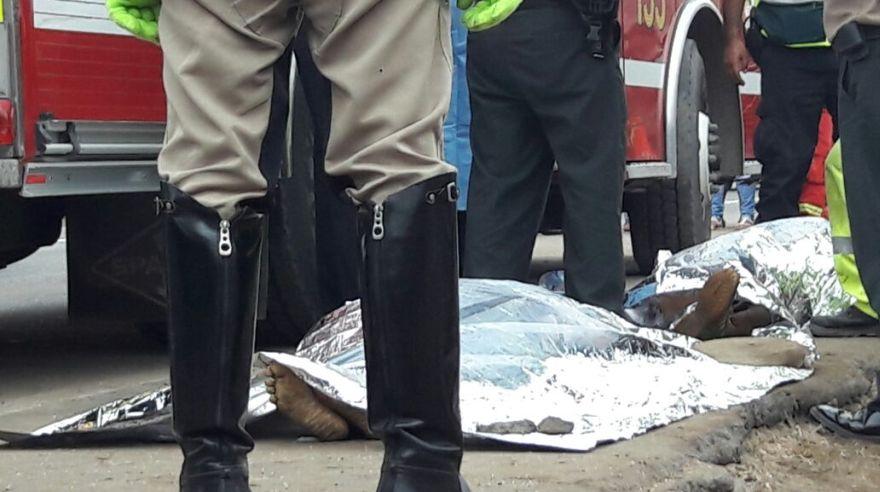 La tragedia de la Panamericana Sur que dejó 6 muertos [FOTOS]