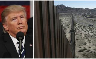Donald Trump solo tiene US$20 millones para construir el muro