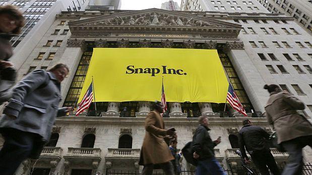 Acciones de Snap suben 41% en su debut en la bolsa