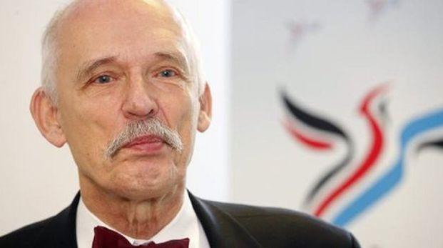 Janusz Korwin-Mikke, diputado polaco del Parlamento Europeo. (Foto: Twitter)