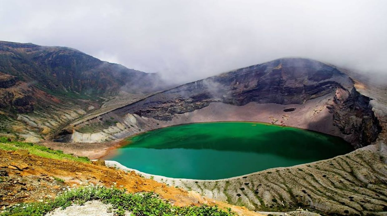 (Foto: Facebook/ Aogashima Volcan Mountain)