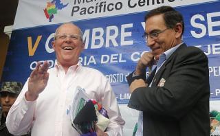"""PPK: """"Yo haré cuestión de confianza por Martín Vizcarra"""""""