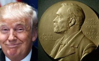 Trump figura entre 300 candidatos para ser Nobel de la Paz
