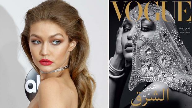 Gigi Hadid hace historia al protagonizar primera Vogue Arabia