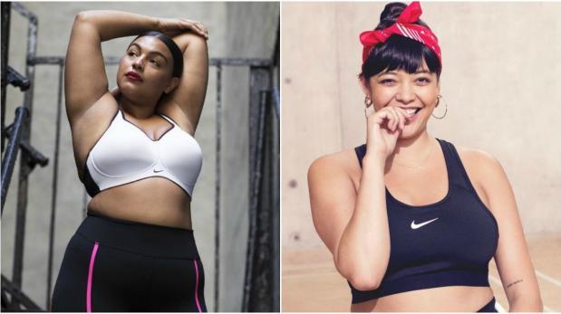Nike lanzó su primera línea de ropa deportiva en tallas grandes