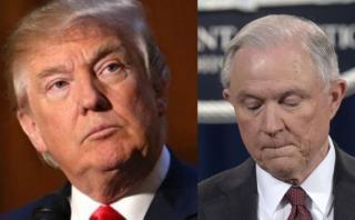 """Trump: """"Sessions pudo dar respuesta más precisa sobre Rusia"""""""