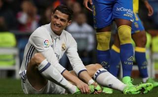 Cristiano Ronaldo se perderá partido ante el Eibar por la Liga