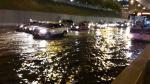 Vía Expresa: gran aniego causó congestión vehicular - Noticias de nicolas arriola