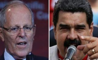 Maduro se enfrenta a PPK por comentarios realizados en EE.UU.