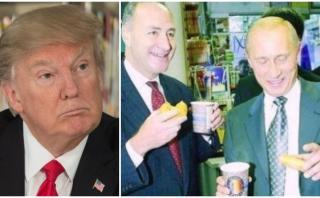 Trump acusa a senador demócrata de tener lazos con Putin